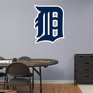 "Detroit Tigers ""Olde English D"" Logo Fathead Wall Decal"